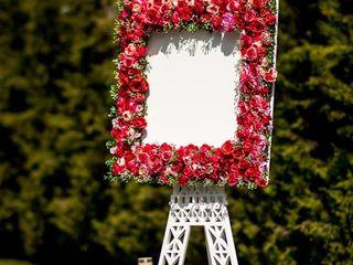 Vind panou-turn Eifel pentru listile invitatilor la ceremonii