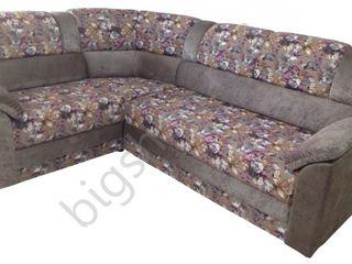 Canapea de colt V-Toms V1 Flowers (1.5x2.35 m). Posibil în credit!!