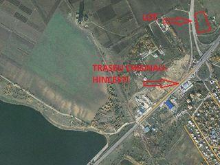 Teren 120 ari linga zona economica libera - traseul Chisinau-Hincesti