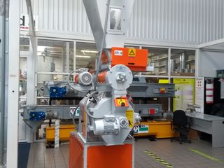Пресс-гранулятор для производства пеллитированного комбикорма