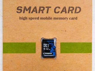 Micro SD 32Gb - 100 lei. Clasa 10.
