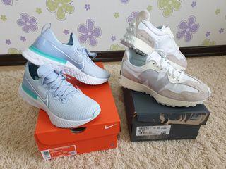 Nike, New Balance, Reebok, River Island