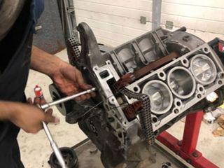 Замена прокладки ГБЦ-Ремонт двигателя- Замена поршневых колец- Замена вкладышей- Замена ГРМ
