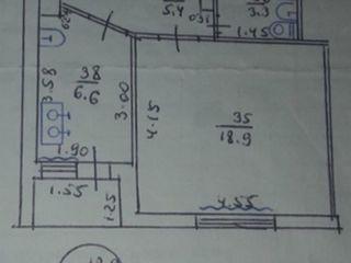 Продаем срочно 1-комнатную кв-ру в г.Рыбница по ул.Вершигоры с мебелью и техникой=$6990