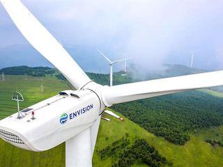 Новые промышленные ветрогенераторы envision energy самые низкие цены