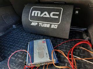 Буфер Mac Audio 1000w + усилитель Raveland 1000w =105 евро