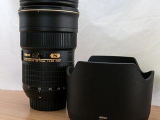 Nikon 24-70mm f/2.8G ED.