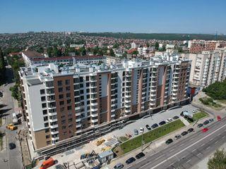 Astercon Grup - sect.Buiucani, penthouse 184.48 m2 cu terasă de 40 mp, prețul 720 €/m2