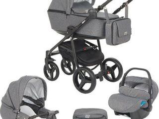 Se vinde cărucior pentru copii Adamex Reggio 3 in 1