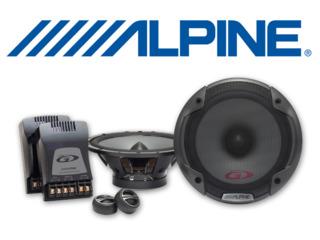 Alpine spg-17cs 2-компонентная акустика