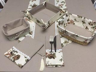 Скатерти и траверсы, готовый декор для вашей кухни