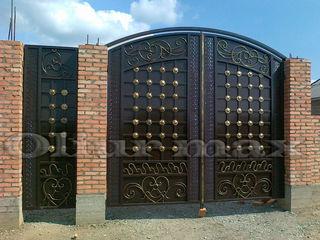 Перила, ворота, заборы, решётки, козырьки, металлические двери  и другие изделия из металла!!