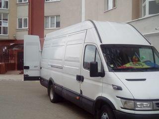 Servicii de transport marfa+hamali 60 +masina de la 90 lei Transport de mobila