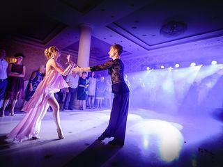 Lumini profesionale + fum greu la primul dans