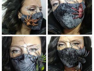 Защитные маски - rock,gothic, helloween!