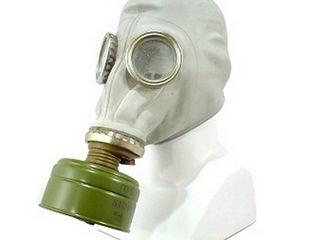 Masti anti-gaz,NOI in set,cu filtre(protivogaz) așa cum se văd in imagine.