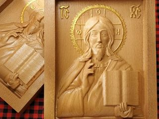 Iconite din lemn, de la 50 lei - 550 lei