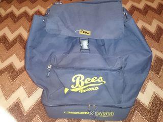 Рюкзак для путешествий и просто прогулок, с двойным дном, можно вместить продукты и вещи.