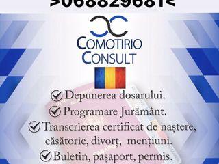 Pasaport , Buletin , Permis Romanesc .