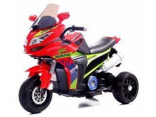 Motocicleta electrica cu roti din cauciuc Street Hero Red
