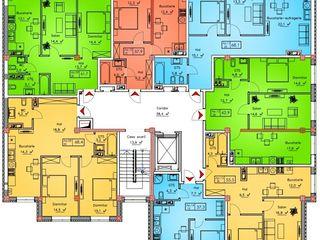 Apartament 61.7 m2...pret - 27.765 euro...2 odai....450 euro m2... in rate...bloc nou...