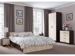Кровати для спальни, бесплатная доставка. Dormitoare in Chisinau in rate!