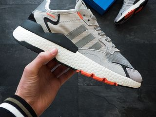 Adidas Nite Jogger Grey & Orange
