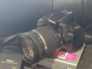Nikon D5200 + Tamron 18-270mm VC PZD