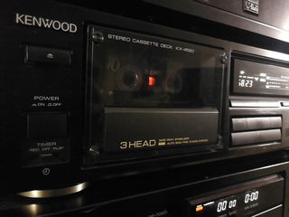 Kenwood KX-4520 3-Head Stereo Cassette Deck (1989-90) ТОРГ