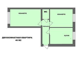 2-х комнатная квартира в новострое!