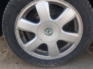 Skoda fabia discuri anvelope.диски шины калеса
