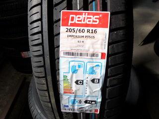 Vind 4 cauciucuri noi, Petlas - 205/60 R16