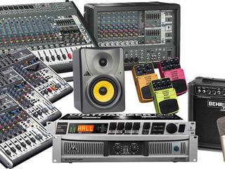 Подбор - установка и подключение звукового музыкального оборудования стационарно