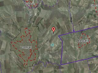 Продам землю 2,75 га по строительство Комрат