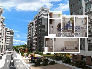 Exfactor Buiucani toate planificările cu 2 camere in rate direct de la compania de construcții.