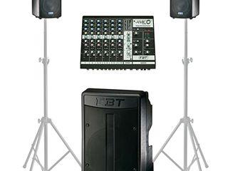 Sistema acustica profesinala in chirie (arenda)