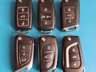 Chei auto, piese, carcase, baterie, alarma reparatie. Deschidere automobile. Dublicate cu cip. Pulit