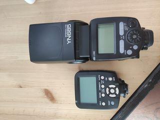 yongnuo YN 685 + controller YN 560TX for canon