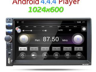 2DIN Магнитола на Android + GPS +wi-fi +Bluetooth +FM