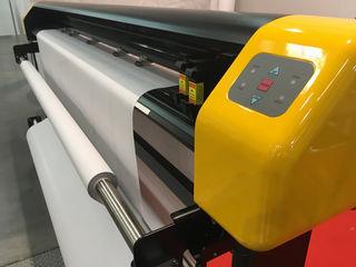 Широкоформатная печать на плоттере / Imprimare în format mare pe plotter