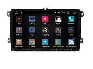 Volkswagen 9 дьюмовый Новый  автомобильный мультимедийный плеер DVD, GPS, Android 9.1 для VW/Skoda