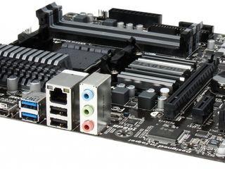 Продам крутую материнку с бортовым видео Gigabyte GA-78LMT-USB3 Socket AM3+