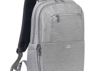 """16""""/15"""" nb backpack - rivacase 7760 canvas, grey"""