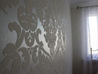 Поклейка обоев. Покраска . Подготовка стен и потолков