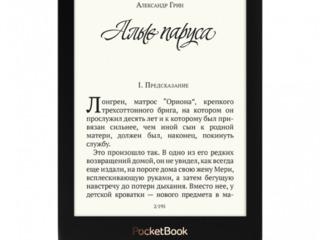 Pocketbook Touch Lux 4  6'' E-Ink Carta/ 8 GB/ Черный