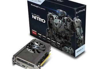 Продаю новую Sapphire Radeon Nitro R7 360 2GB DDR5 128Bit 1060/6500Mhz, DVI, HDMI, DisplayPort