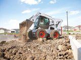 Bobcat, Excavator, Miniexcavator, Compactor, Kamaz.