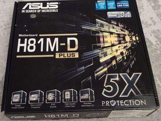 Asus H81M-D Plus