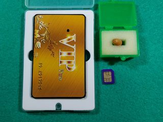 Nanocaști nedetectabile (fără telefon ) VIP Card GSM / model nou / беспроводные микронаушники
