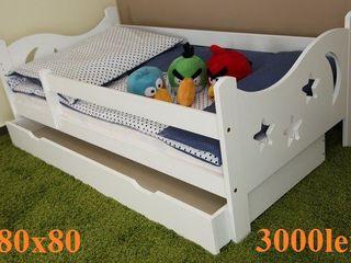 Кроватка детская. Натуральное дерево. Patuc pentru copii.